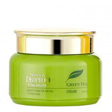 DEOPROCE PREMIUM GREEN TEA TOTAL SOLUTION CREAM Крем с экстрактом зеленого чая 100мл
