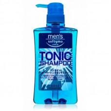 """Kose Cosmeport """"Men's Softymo"""" Мужской тонизирующий шампунь для волос,цитрис, 550 мл."""
