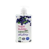 """Экологичное средство для мытья посуды """"Sugar Bubble"""" черника, 940 мл."""