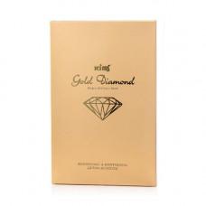 Гидрогелевая золотая маска для лица Kims Gold Diamond Hydro-Gel Face Mask