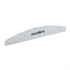 "Solomeya Пилка для ногтей ""Арка"" # 100/180 Halfmoon zebra file with logo ref."