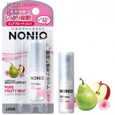 """LION Спрей """"Nonio"""" для свежего дыхания с ароматом фруктов и мяты  5 мл"""