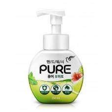 """PIGEON Мыло-пенка для рук Pure Mojito с натуральными ингредиентами и антибактериальным эффектом """"Мохито"""" 250 мл"""