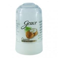 """""""Grace"""" Кристаллический натуральный антибактериальный дезодорант """"Кокос"""" 40гр."""