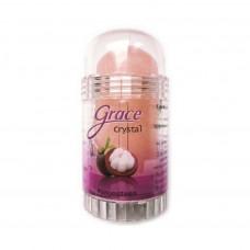 """Grace"" Кристаллический натурал. антибактериальный дезодорант ""Мангостин"" 40гр.*12"