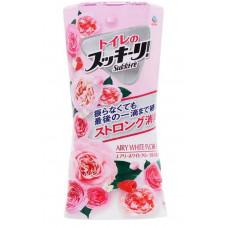 """Earth"" ""Sukki-ri!"" Жидкий дезодорант-ароматизатор для помещений с цветочным ароматом (""Белые цветы"", для туалета) 400мл"