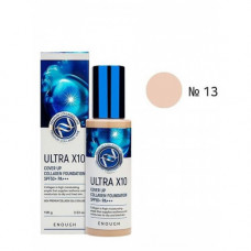 ЕНФ Основа тональная Ultra 10 up  Collagen  Foundation #13 100мл