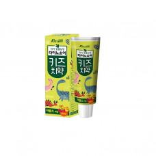 MKH Детская зубная паста с ярким вкусом микса фруктов «Kizcare» (с пониженным содержанием фтора) 80 г