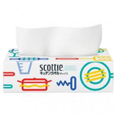 """NP Бумажные кухонные полотенца в коробке Crecia """"Scottie"""" двухслойные 75шт"""