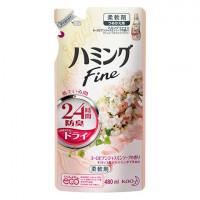 FUNS ЗБ Кондиционер для белья с антибактериальным эффектом и ароматом белой розы и жасмина 480 мл