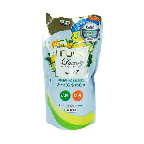 FUNS ЗБ Кондиционер для белья с антибактериальным эффектом и ароматом цитруса 480 мл