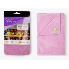 3500-0112/2 Полотенце для кухни CATCHMOP (Корея), 38*51 см, микроволокно, розовая дымка