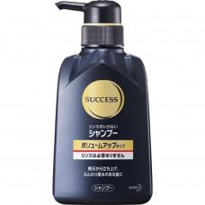 KAO Success Shampoo Volume Up Type Мужской шампунь для придания объема волосам, с ароматом цитрусовых, 350мл.