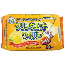 """""""Showa Siko"""" """"Osoji"""" Влажные салфетки для очищения пола и различных поверхностей 20шт"""