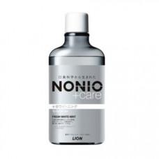 """LION Ежедневный зубной ополаскиватель """"Nonio"""" с длительной защитой от неприятного запаха (с отбеливающим действием и освежающим ароматом фруктов и мяты) 600 мл"""