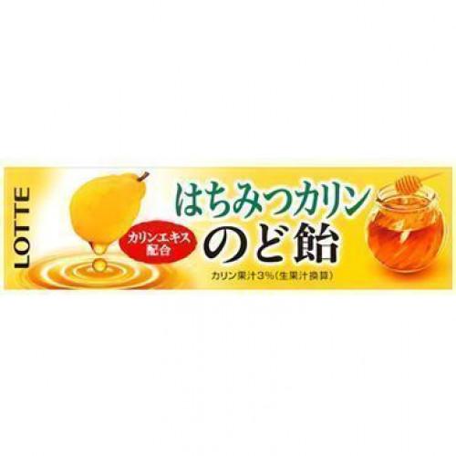 Леденцы со вкусом айвы и мёда 10 шт, Lotte, 59,4 г.