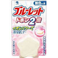 KOBAYASHI Bluelet Dobon Double Soap Двойная таблетка для бачка унитаза очищающая и дезодорирующая, с ароматом свежести, 120г