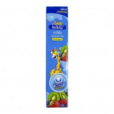 LION Thailand Kodomo паста зубная гелевая для детей с 6 месяцев с ароматом мультифрукта, 40 г
