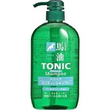 """COSME STATION Шампунь для мужчин """"TONIC""""  с лошадиным маслом и ароматом ментола 600 мл"""