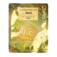 Pure Natural Маска тканевая с муцином улитки Pure Natural  Mask Sheet [Snail] 20мл
